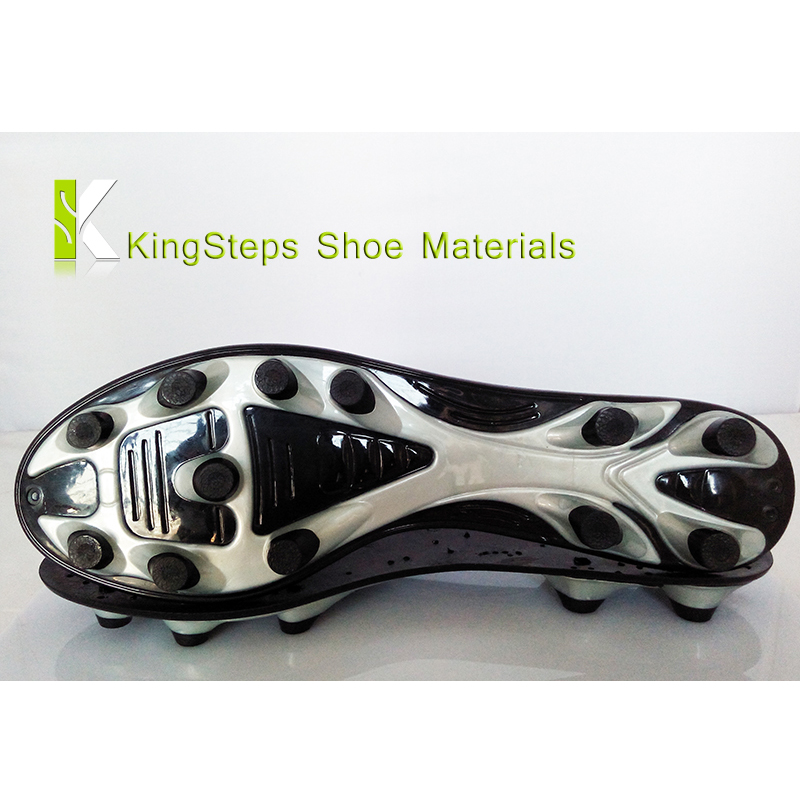Tpu outer soles for soccer cleats manufactural factory in jinjiang footwear raw material factory KSGS-1506