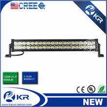 20 Inch 120W Dual Row Offroad Cree Led Light Bars, ip67 CE ROHS Certification pc lens, for sale cheap light bars
