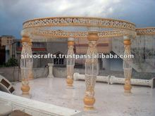 New carving Mandap (Fiber wedding mandap decorations from India)