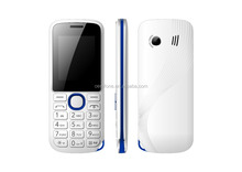 Mini portable chinese cheap white+blue oem feature cell phone