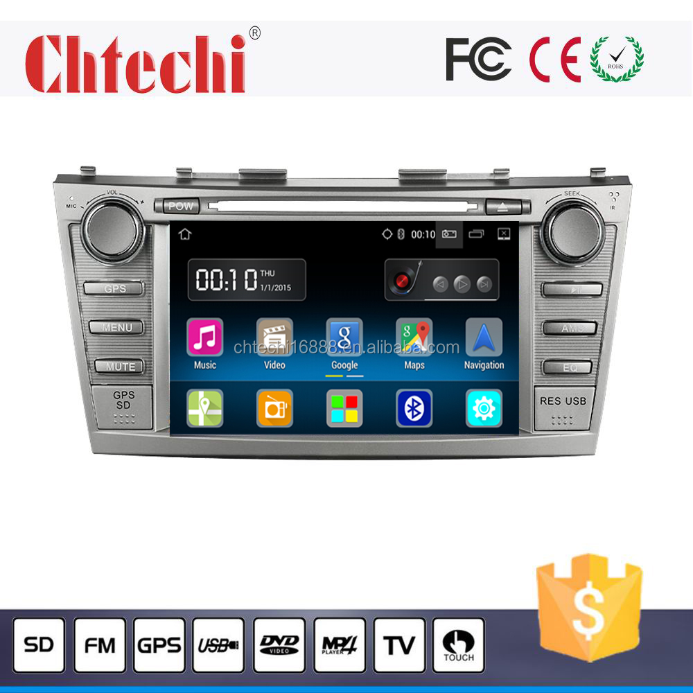 Car DVD Player for Toyota Camry 2007-2011 Model With Android 5.1.1 system 8inch big USB high quality