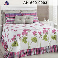 High Quality Cotton Embroidery Comforter Set