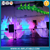 decorative lighted wedding columns led inflatable tree shaped