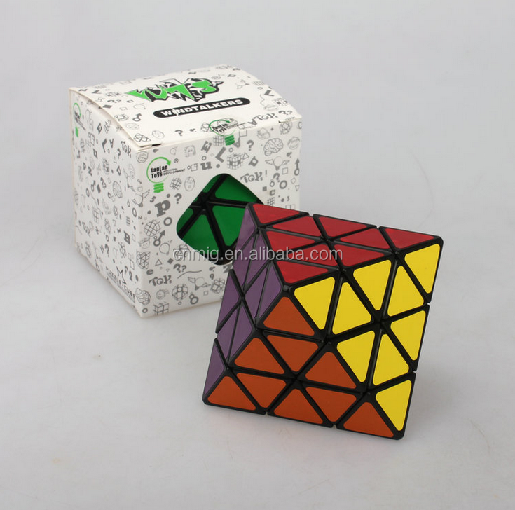 ABS plastic wholesale ultra-smooth fancy educational magic cube