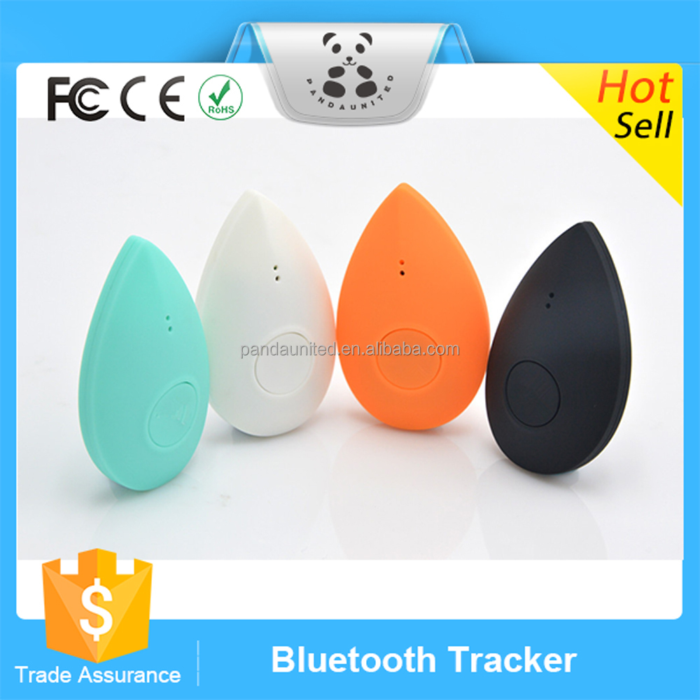 2016 Popular Promotional Wireless mini portable bluetooth tracker Anti-lost GPS kids and pets Tracking Device For IOS Samsung