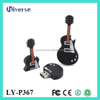 Best price usb flash drive in guitar shape pendrive cartoon usb 1gb cheap promotional gift pen drive customized