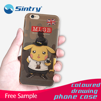 custom 0.3mm 3d silicone phone case electroplating tpu case universal silicone phone case 3d cartoon case for nokia