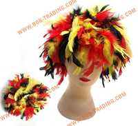 cheap football fans wig,party wig,crazy wig halloween hairpiece