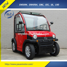 EEC Europe mobility scooters with roof 2 seat electric car scooter wholesaler 60v 2800w 120ah electric vehicles for disabled