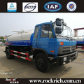 Hot sale dongfeng 9000 L mini vacuum sewage cleaning suction tanker truck