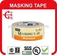 color Masking Tape with Rubber Base and Easy-Tear
