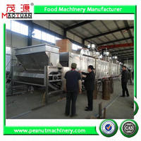 continuous soybean roaster/soya bean roasting machine