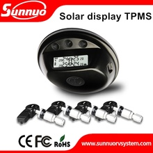 High quality DIY best car digital pressure monitoring solar power external tire pressure monitoring systems TPMS