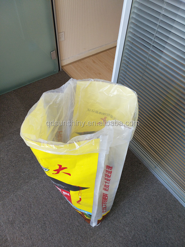 Grain Fertilizer Use 50kg 100kg Agricultural packaging laminated China pp woven bag