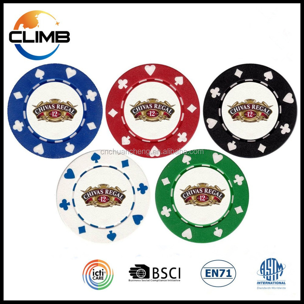 Professional wholesale custom casino poker chips, cheap clay custom 11.5g poker chips