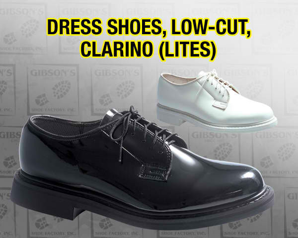 DRESS SHOES, LOW-CUT, CLARINO (LITES)