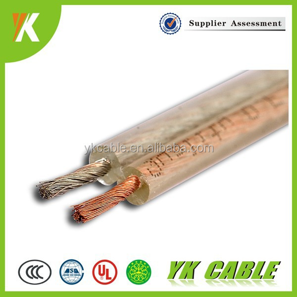 100m el wire cable roll transparent electric wire