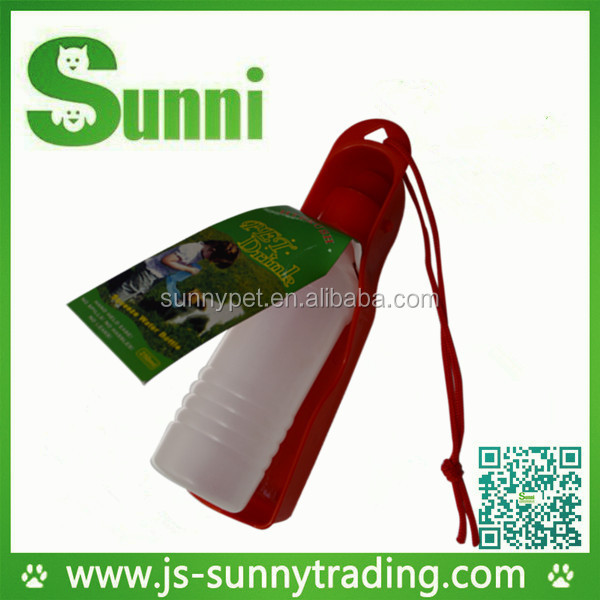 Sample free portable foldable pet feeding bottles with cheap price
