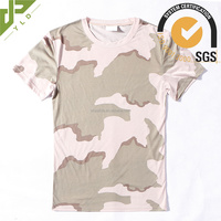 hot sale camo polyester free army t shirt