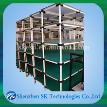 plastic coated lean tube for Pipe-Rack Storage Systems SKP-45