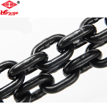 High quality black alloy steel load chain Grade 80 chain