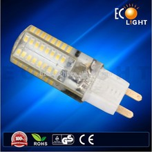 Popular selling 2015 Ecolight,Promotion! 30w halogen G4 Replacement, Epoxy resin glue LED 64pcs 3014 SMD 3W G9 Led Bulb RA80