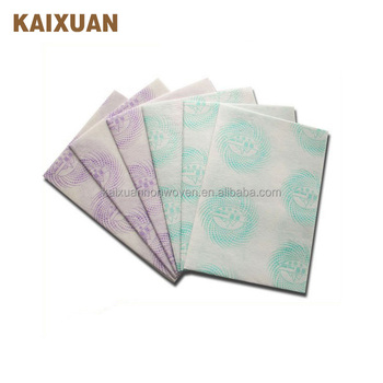 chemical bond nonwoven industrial disposable cleaning cloth