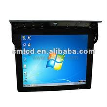 17inch black tft lcd pc monitor for car