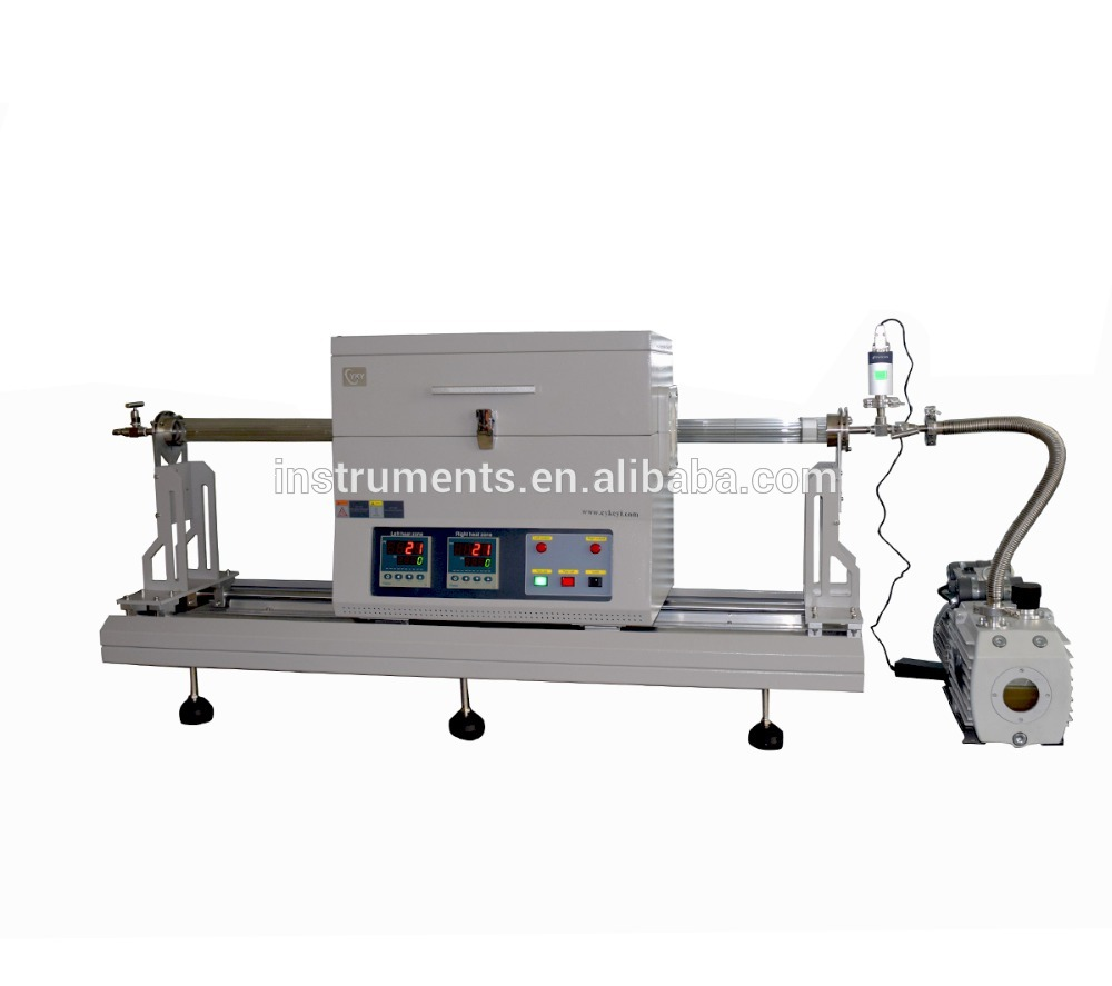 Lab fast heating and annealing slide type tubular furnace