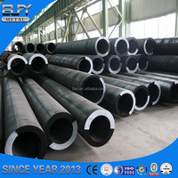 alloy carbon seamless plastic coated conical steel tube