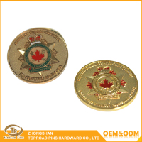 Good quality hot sell custom logo souvenir metal challenge coin blanks