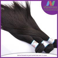 grade 100% cheap weaving 18 inch unprocessed remy 100% brazilian human hair ponytail extension