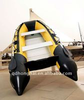 DSM-300 ce pvc aluminum inflatable manufacturer used fishing sports boat