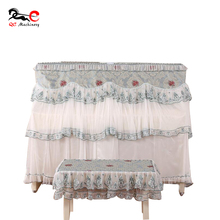 Girl style noble gimp tassel waterproof piano cover