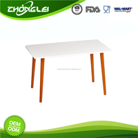 High Standard Latest Design SGS Factory Direct Price White Coffee Table