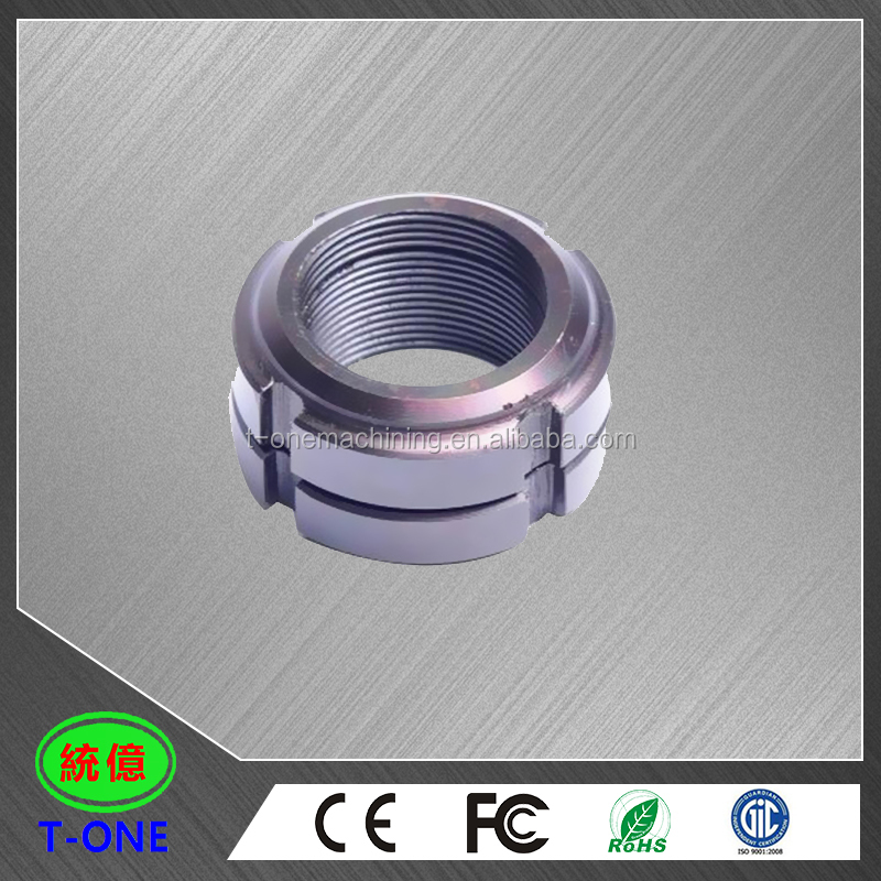 CNC custom machined OEM manufacturing stainless steel rings & CNC parts