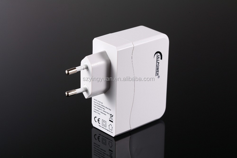 4 ports USB wall charger with CE