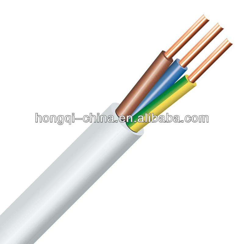 Copper Conductor PVC Insulation Low Smoke Zero Halogen Cable