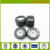 72mm  black High Rebound rubber Wheels For Electric Skateboard