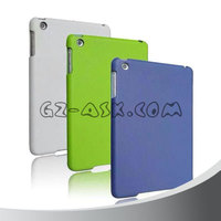 Smart Cover Partner Transparent Back+Magnetic PU Leather Case for iPad mini 1/2/3 Smart Cover