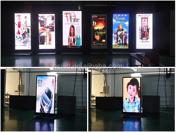 Floor Stand PH5 Indoor LED Advertising Player