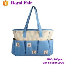 Tote Multi-functional Nylon Mummy Diaper Bag