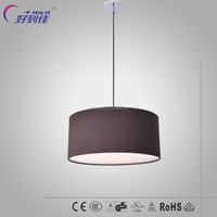 HMD5024 modern drum fabric hardback shade decoration pendant lamp for Christmas day