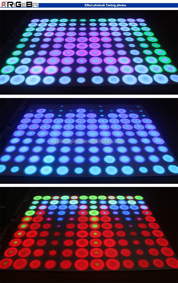 newest wedding disco bar night club stage acrylic wall ceiling decoration light patent dynamic led panel light