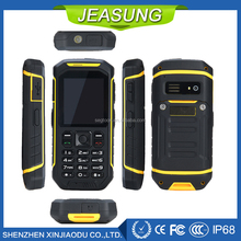 New outdoor cellphone IP68 waterproof Shockproof dustproof GSM rugged mobile phone
