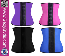2016 Wholesale shapwear waist trainer Women Latex Waist Training Corsets