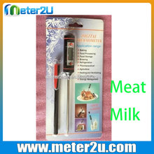 Needle Instant Read Internal Thermometer food milk beef bbq thermometers