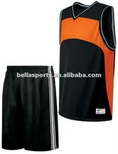 Fashion Blank Men's Basketball Uniform (Jersey&Shorts)