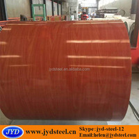 wood printed pre painted galvanized steel coil with high gloss surface for Vietnam