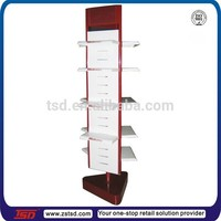 TSD-M355 Custom free standing footwear display stand,furniture for shoe store,shoe display ideas